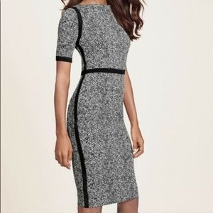The Limited scandal edition B/W printed dress NWT